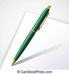 Vector classic pen