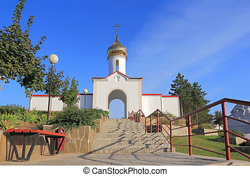 Cossack village in South Russia