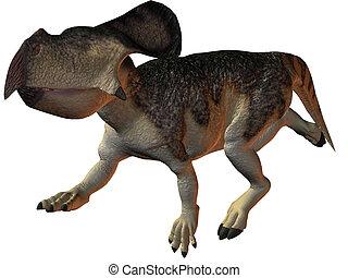 Protoceratops - 3D Render of an Protoceratops-3D Dinosaur