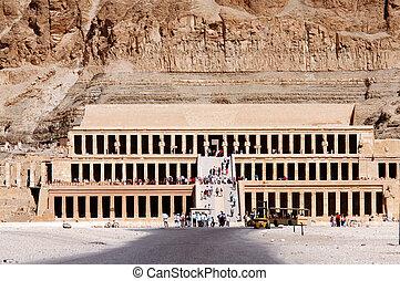 necrotério, Templo, Hatshepsu
