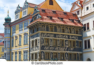 The House ldquo;At the minuterdquo; Prague, Czech Republic -...