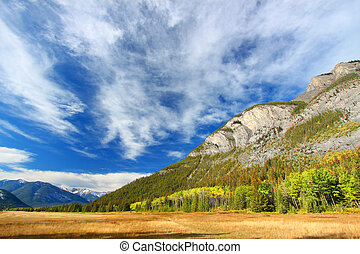 Banff National Park Scenery - Amazing mountain scenery of...