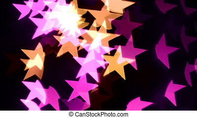 abstract bokeh star background
