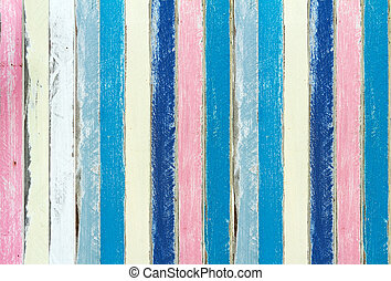 pastel color of painting wood background