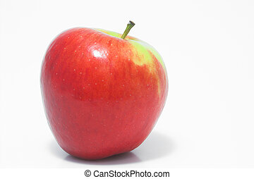 Red Delicious Apple - A whole red delicious apple waiting to...