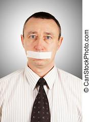Discrimination. No right to voice