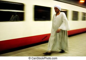 Egypt Travel Photos - Cairo - CAIRO - May 02: Egyptian man...