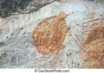 Aboriginal Rock Art - Kakadu National Park, Australia