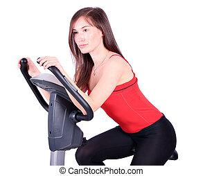 girl fitness exercise
