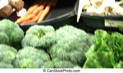 Pan of Vegetable Variety - Pan of produce including carrots,...