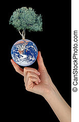 Gift of Earth.Elements of this image furnished by NASA