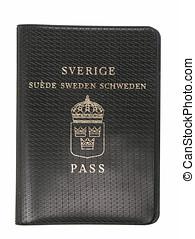Old Sweden Passport