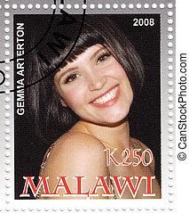 MALAWI - CIRCA 2008: stamp printed in Malawi shows Gemma...