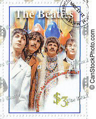 REPUBLIC GUINEA EQUATORIAL ? CIRCA 2006 : The Beatles -...