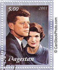 jacqueline, John, dagestan, f, timbre, :, kennedy, -, 2001,...
