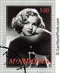 MORDOVIA - CIRCA 2001 : stamp printed in Mordovia with...
