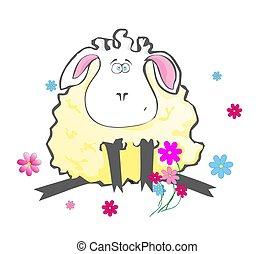 lamb - yellow lamb
