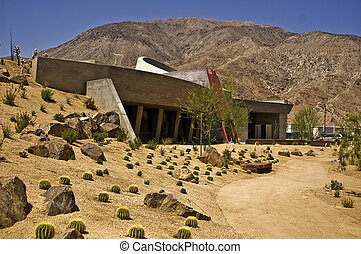 Palm Desert Visitor Cente - This is a picture of the new...