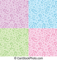 patterns with snakes