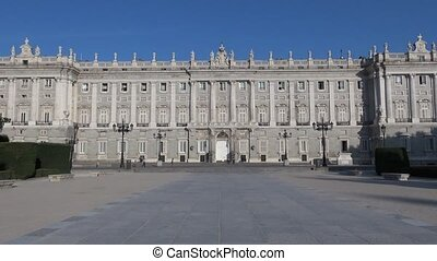 Madrid Royal Palace front 30 - royal palace public monument...