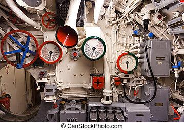alemão, mundo, guerra, 2, submarino, tipo, VIIC/41,...