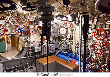 corazón, Alemán, tipo, -, Submarino, 2, mundo, viic/41,...