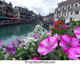 Paisagem em Annecy