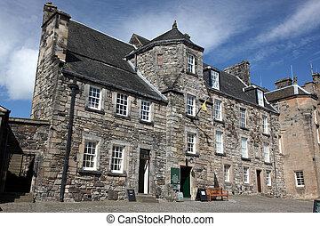 Stirling Castle in Stirling, Scotand, UK