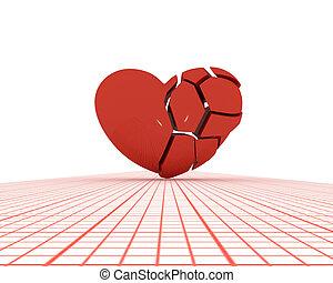 Heart splinters.