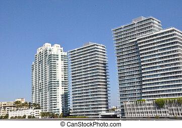 Skyscrapers in Miami, Florida
