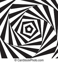 Abstract swirl. Vector. - Abstract vector illustration...