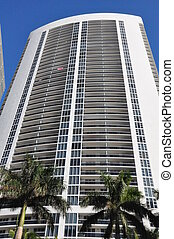 Skyscraper in Florida - Skyscraper in Sunny Isles, Florida