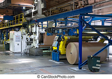 Corrugator - The machine for manufacture of a corrugated...