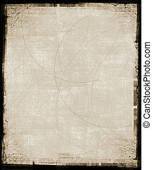 Tan Grunge Background - Scratched background with grunge...