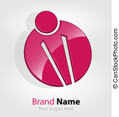 Abstract brand logologotype - Originally designed abstract...