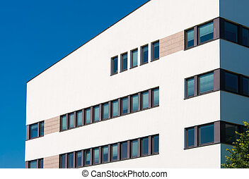 modern office building - modern new office building in...