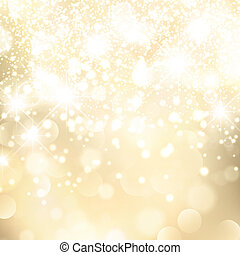 Abstract Holiday Golden Background