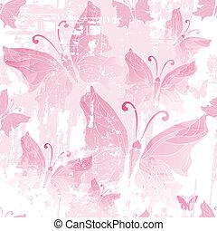 Seamless pink grunge pattern