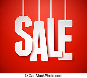 Sale background. Vector.