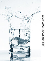 vodka splash - vodka alcohol elegant splash bar background