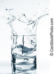 vodka, éclaboussure