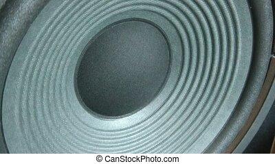 Speaker Vibrating Loud Music