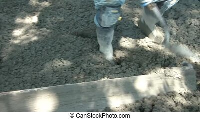 Smoothing Out Concrete Over Rebar