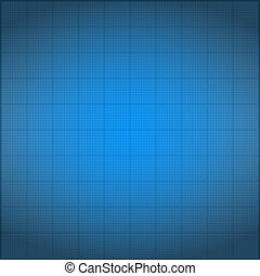 Blueprint background with vignetting, vector eps10...