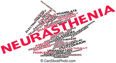 Word cloud for Neurasthenia - Abstract word cloud for...