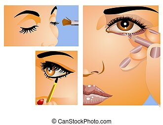 Make -Up - A make-up artist visual guide