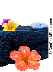 Aroma Therapy - Different colored aroma therapy candles and...