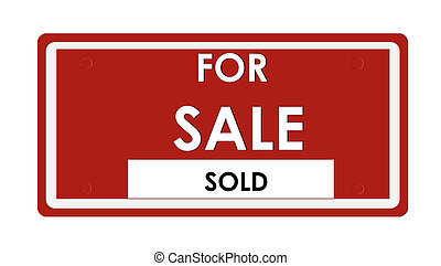 For Sale sign - For sale sign