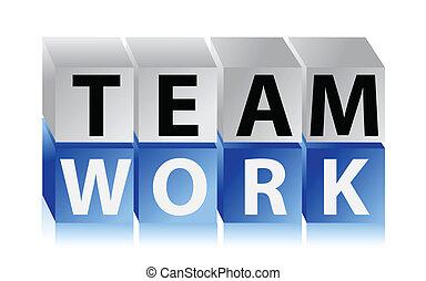 teamwork cubes