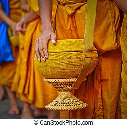 Buddhist monks.